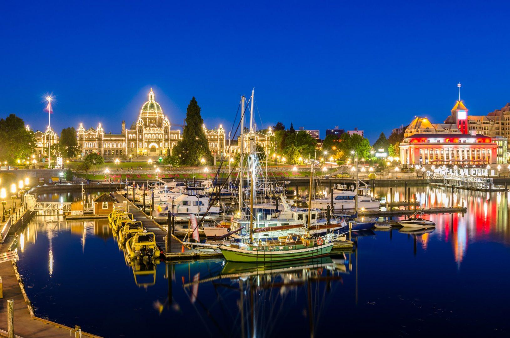 Le port de Victoria